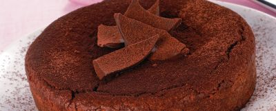 torta fondente alle mandorle ricetta