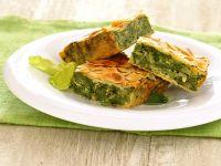 torta verde con mandorle croccanti Sale&Pepe