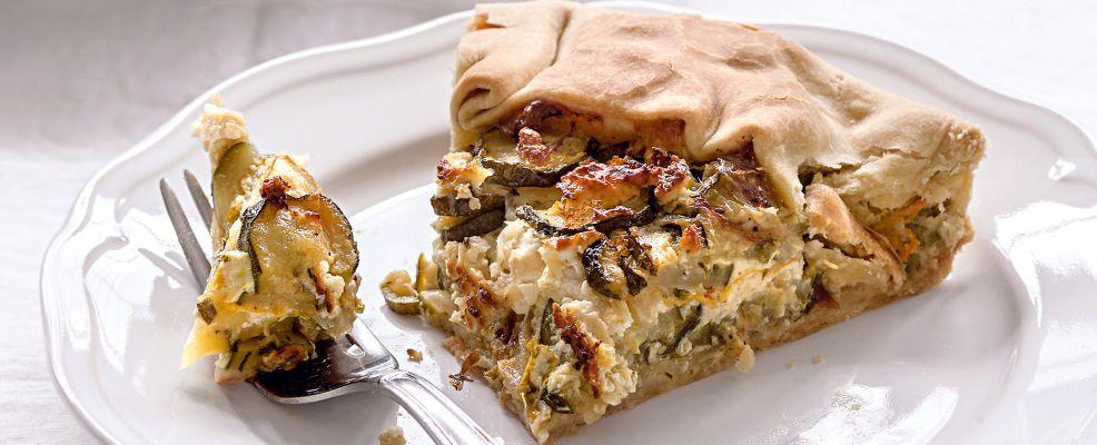 Torta zucchine feta Sale&Pepe