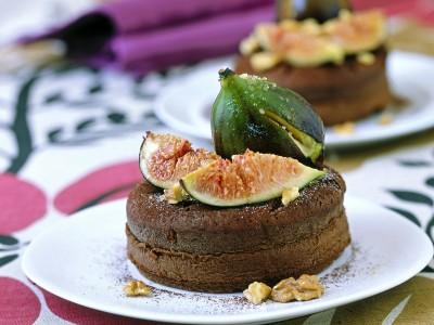 tortini-di-cioccolato-con-noci-e-zenzero