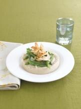 tortini-di-fagioli-cannellini-con-gamberi-e-fagiolini ricetta