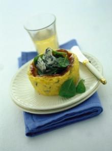 I tortini di polenta e gorgonzola