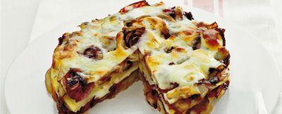 tortino con patate e formaggio ricetta