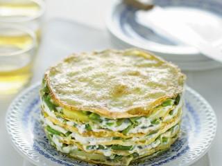 tortino-di-crespelle-al-pesto ricetta