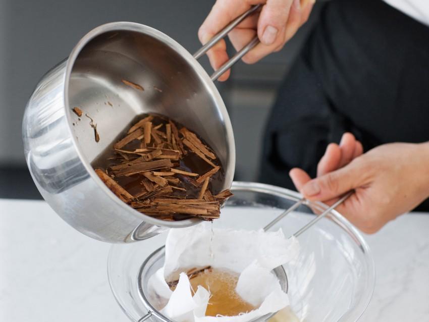 tortino-di-mandorle-e-lamponi preparazione
