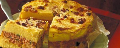 tortino di patate e prosciutto ricetta
