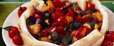 tortino di platessa con zucchine e peperoni ricetta