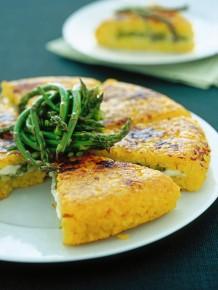 tortino-di-riso-allo-zafferano-e-pecorino ricetta