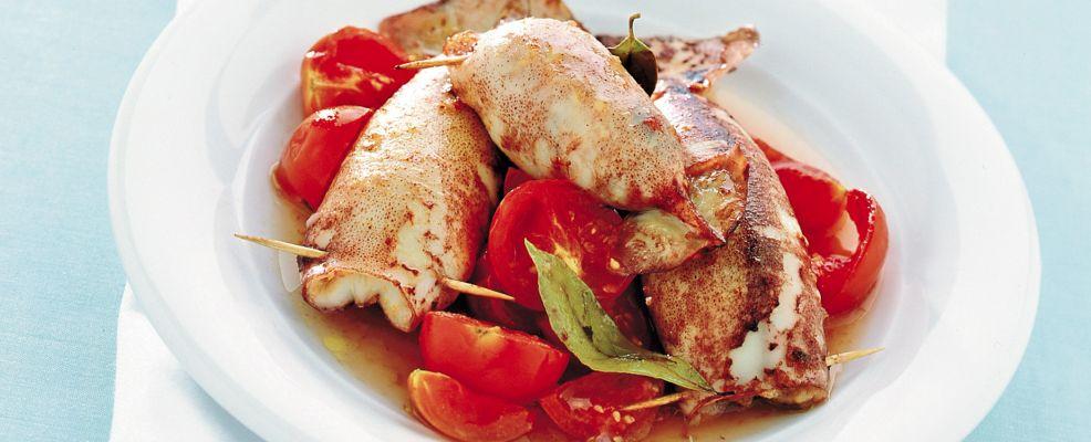 totani ripieni al forno Sale&Pepe ricetta