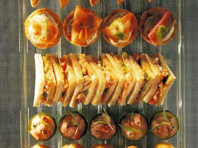 tramezzini all-insalata di gamberi ricetta