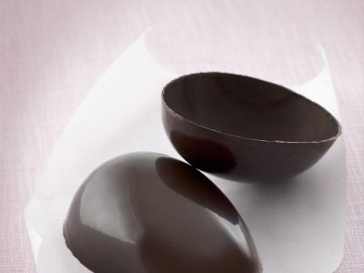 uovo di cioccolato i due mezzi gusci ricetta