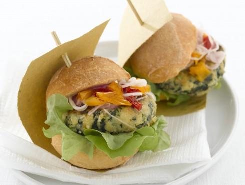 vegburger foto