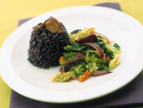 verza stufata al riso nero Sale&Pepe
