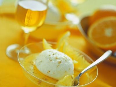 zabaione all'arancia e cointreau ricetta