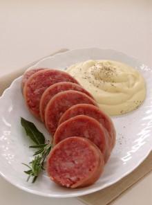Ricetta dello zampone classico con purè di patate