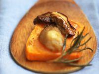 zucca e porcini al rosmarino Sale&Pepe