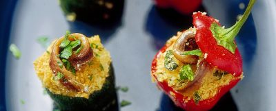 zucchine-e-peperoni-ripieni ricetta