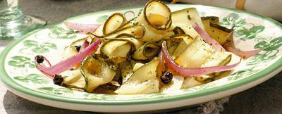 zucchine marinate ricetta