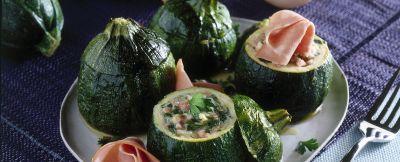 zucchine ripiene alla mortadella ricetta