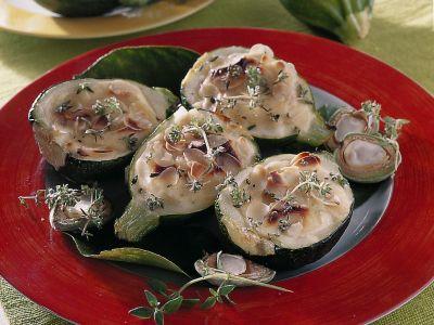 zucchine ripiene alle mandorle ricetta