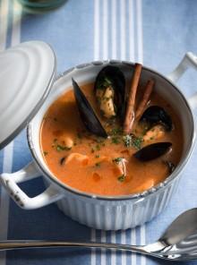 La zuppa di cozze alla catalana