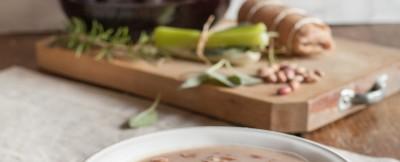 zuppa di fagioli grassi ricetta