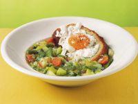 zuppa-di-primavera-con-crostoni ricetta