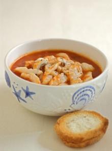 La zuppa di rana pescatrice