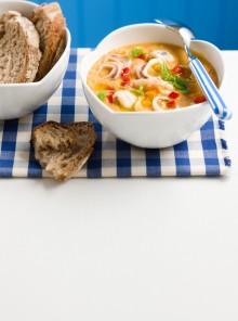 La zuppa mista alla saracena