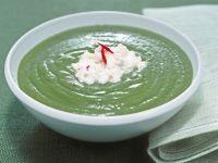 zuppetta-con-crescione-e-bietole ricetta