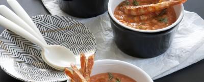 zuppetta-di-lenticchie-rosse-e-mazzancolle-alla-paprica