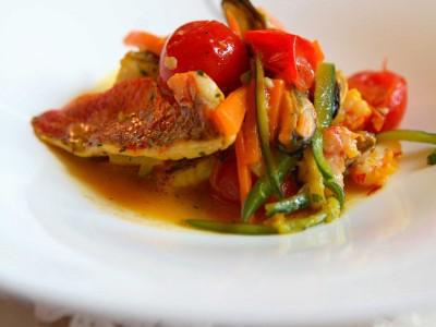 zuppetta-di-pesce-al-profumo-di-zafferano ricetta