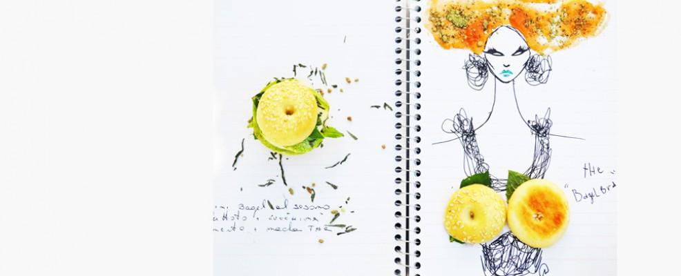Gli intrecci cibo-corpo-moda sono sottolineati dal contributo della fashion editor Gaia Pallotta