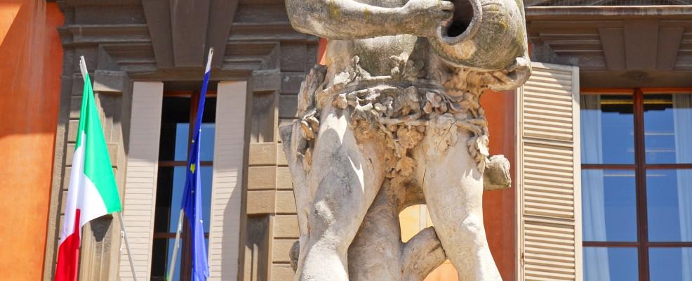 Statua raffigurante il fiume Crostolo, Reggio Emilia