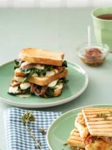 Toast alla napoletana cona cciughe