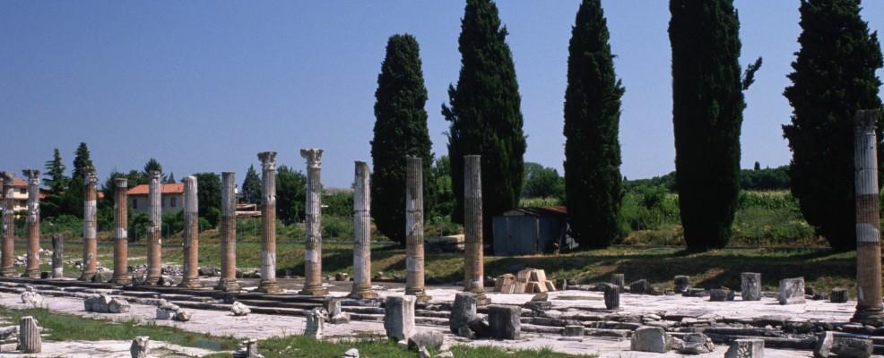 Il foro romano di Aquileia (Foto © Francesco Venturi /Corbis)