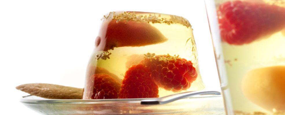 Aspic di lamponi e albicocche ai due gusti Sale&Pepe