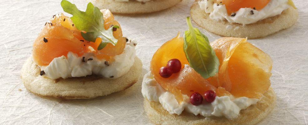 Blini con salmone affumicato (Foto © the food passionates /Corbis)