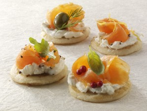Blini con salmone affumicato (Foto © the food passionates /Corbis)
