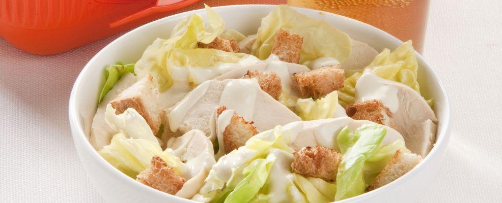 caesar salad pollo ricetta sale e pepe