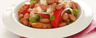 Ricetta gratin con pomodori, formaggio e cipollotto
