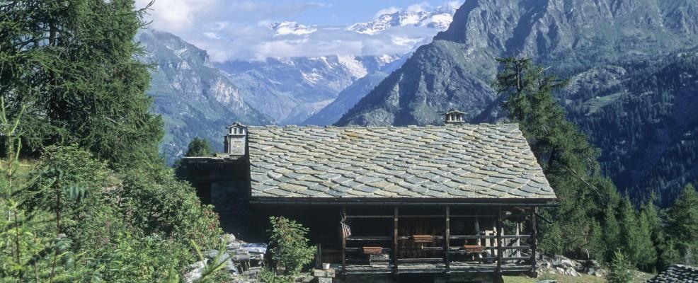 Valle d'Aosta, Gressoney-Saint-Jean, Monte Rosa (Foto © Nicolas Thibaut /Photononstop /Corbis)