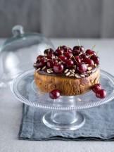 Torta di patate con cioccolato e ciliegie | Sale&Pepe