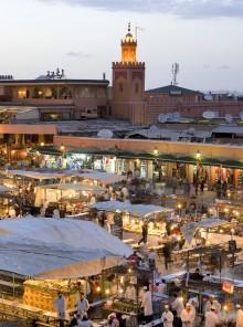 Il fascino antico di Marrakech, il regno delle spezie