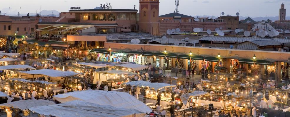 Marrakech, Morocco (Foto © Patrick Escudero /Hemis /Corbis)