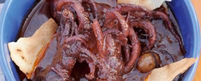 moscardini affogati al Carignano ricetta