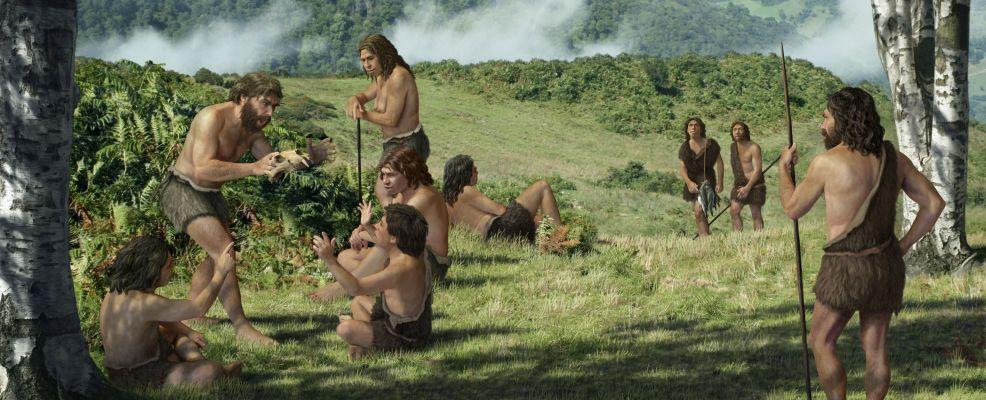 La dieta dell'uomo primitivo