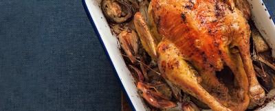 pollo in teglia con verdure