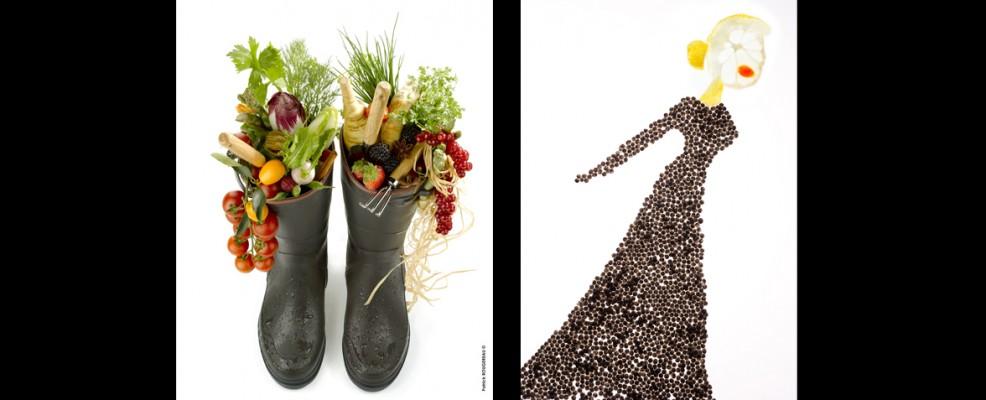 2010, Patrick Rougereau, J'ai descendu dans mon jardin / 2012, Marco Fortini, Caviar Dress