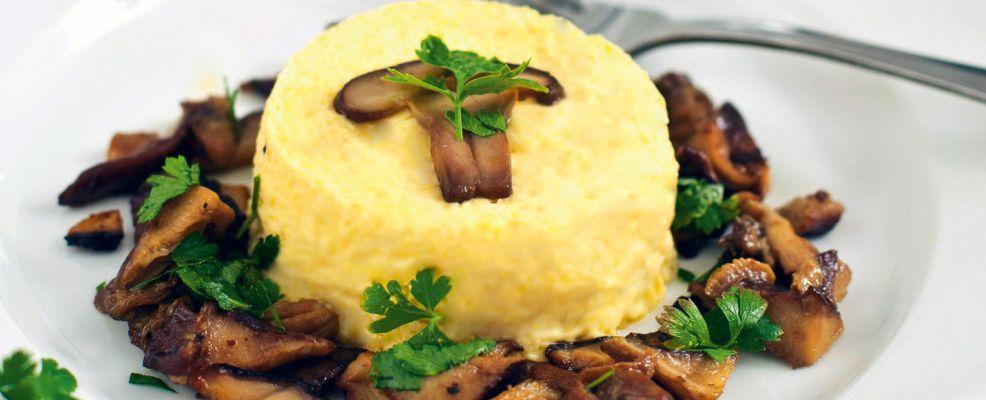 tartrà con funghi trifolati Sale&Pepe